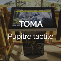 Pupitre tactile
